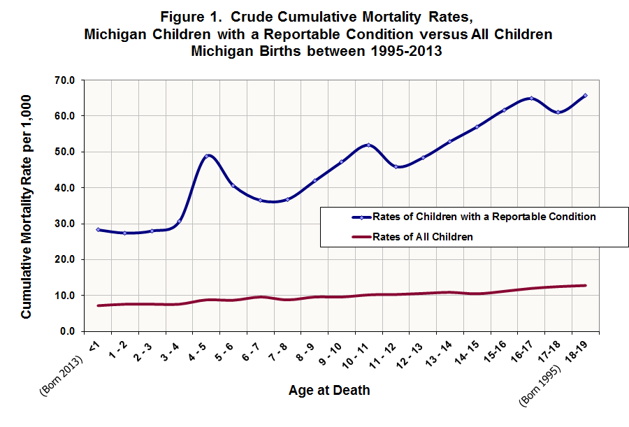Cumulative Mortality Rates Figure